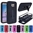 New Hybrid Soft Rubber Shockproof Case Cover for Samsung Galaxy S6 + 5 Accessory