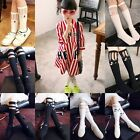 Kids Baby Toddler Girls Cotton Lace Long Socks School High Knee Stockings 2-7Y