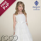 Girls Ivory Dress, Bridesmaid Dresses, Prom Dresses, Dresses For Girls