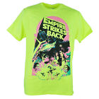 Star Wars The Empire Strikes Back Darth Vader Cast Neon Yellow Tshirt Tee $16.95 USD on eBay