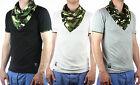 Carisma Men's T-Shirt V-Neck with Camouflage White,Black,Grey Turtle - New