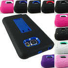FOR SAMSUNG GALAXY NOTE 5 RUGGED IMPACT KICKSTAND CASE ARMOR COVER+STYLUS