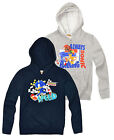 Boys Official Sonic The Hedgehog Hoodie New Kids Hoodied Jumper Ages 3-8 Years