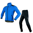 Sobike Cycling Winter Suits Fleece Jacket-Alien Blue ,Fleece Pants-Glacier New
