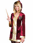 Cute Young Girls Magic Student Red Robe WizarNAy Delights Halloween Costume