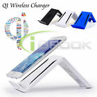 Qi Wireless Charger Stand Holder For Samsung Galaxy Note 5 S6/S6 Edge Tablet New