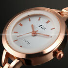 GORGEOUS WOMENS LADIES GIRLS CHARMING QUARTZ ANALOG BRACELET BANGLE WRIST WATCH