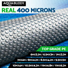 Solar Swimming Pool Cover 400 Micron Outdoor Bubble Blanket Isothermal