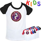 Stained Glass My Little Pony rarity by amethyst  Pattern Kids Girl's T Shirt