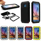 Metal Shock Water Dust Proof Case Cover For Samsung Galaxy S5/S6 Note 3/4