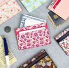 Pour Vous Melody Card Pocket Case Credit Business ID Holder Flower Wallet Purse