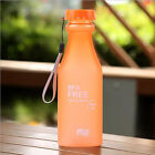 Unbreakable Sport Travel Water Bottle Portable Leak-proof Cycling Camping Cup