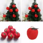 6~30Pcs Red Apple Christmas Tree Hanging Ornament Xmas Party Home Decoration HOT