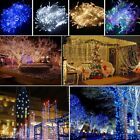 100 200 300 500 1000 White/Coloured LED Fairy String Light Xmas Indoor Outdoor