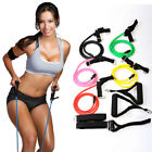 Bands New Home Gym Resistance Tube Set Yoga Fitness Body Workout Stretch Tubing