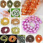 10-11mm Freshwater Pearl DIY Loose Freeform Oval Rice Beads Colors 14-14.5