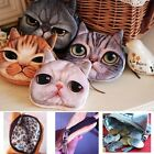 New Kids Cute Animal Face Zipper Purse Ladys Friends Wallet Coin Makeup Bag Hot