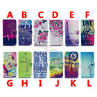 Patterned Lovely PU Leather Wallet Card Flip Case Cover Skin For Smart Phone #A1