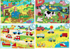 A to Z Children's 24 Piece Wooden Jigsaw Puzzles Various Designs Educational Toy