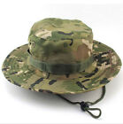 Bucket Hat Boonie Hunting Fishing Outdoor Cap Wide Brim Military Unisex Cappelli