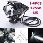 1/2/4 X Motorcycle CREE 125W U5 LED Driving Head Spot Light Lamp Headlight K0E1