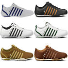 New K Swiss Arvee 1.5 Mens White Brown Leather Trainers Shoes Size UK 7-10
