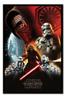 Framed Star Wars Episode 7 The Force Awakens First Order Poster New £29.95 GBP