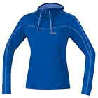 Jerseys Gore Running Sweater Essential Hoody Brilliant Blue  Vista Blue Women