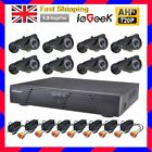 4/8 CH AHD DVR 720P Security Camera Digital Video Recorder+ CCTV Outdoor Cameras
