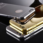 Galaxy Note 5/iPhone5/6/6Plus Metal Plated Bumper Mirror Case (DOME006)