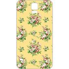 AM301 Yellow Flowers Clear Cell Phone Case For Samsung Galaxy S3 S4 S5 S6 A3