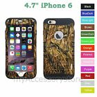 For iPhone 6 Hunting Duck Camo Hybrid Hard&Rubber Rugged Protective Case Cover