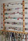 "Earring 66-126 pr Holder ""New""  BIG Wall Hugger Jewelry Organizer Display/Rack"