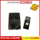 Dynamic Digital Wireless Door Bell Cordless Chime 36 Melodies Cordless Black NEW