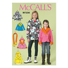 McCall's 7236 Sewing Pattern to MAKE Girls' Double Breasted Jackets Fleece
