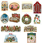Traditional German Coppenrath Huge Big Advent calendar cut outs and 3 D