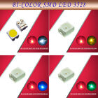 100pcs 3528  SMD LED Bi-Color Red-Blue / Yellow / Green /  White LEDs NEW
