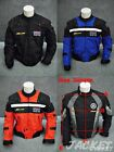 New Nylon Motorcycle Jacket for Honda Black Blue Red L XL 33#G