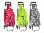 Shopping Trolley Folding Luggage Bag With Wheels Shops Groceries Festivals