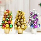 27cm*15cm Artificial Luxury Christmas Tree Ornaments Xmas Party Decoration Gift