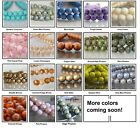 6mm Round Czech Glass Beads 25 Druk Choose Color New Arrivals
