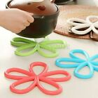 Multicolor Flower Dining Table Pot Dish Mat Cushion Placemat Holder Heat Proof