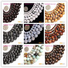 """Mysterious Smooth Round 19 Materias Gemstone Beads strands 15"""" SizePick SD0405"""