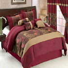 Diana Luxury 7PC Comforter Set, Includes Comforter, Skirt, Shams and Pillows