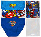 Boys Superman Briefs New Kids Character Underwear 3 Pack Of Pants Ages 2-6 Years
