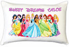 Princess Girls Girly Kids Personalised Pillow Case Childrens Bedroom Gift