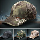 Baseball Cap Fishing Hunting Army Miltary Peak Camo Cap Camouflage Shooting Mens