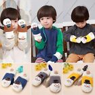 Children Kids Girls Boys Knited Gloves Warm Winter Snowman Ski Mittens Xmas Gift