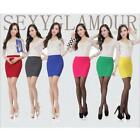 Fashion Women Lady OL Sexy Mini Skirt Striped Short Slim Pencil Skirt Dresses W