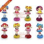 1PCS The Lalaoopsy Pvc Figure Dolls Spring Toys,Standing Dolls,Shaking Head Doll